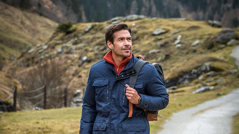 Jacke von Luigi Morini